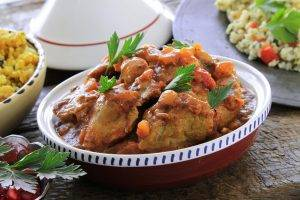 lamb tagine - the Boars Head Hotel