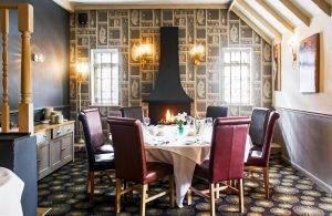 Boars Head Hotel in Derbyshire - Dining Room